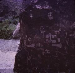 Petrified Forest National Park -  Newspaper Rock (Stabbur's Master) Tags: arizona northernarizona petroglyphs usnationalpark nationalpark petrifiedforestnationalpark newspaperrock petrifiedforestpetroglyphs westernusa westernus west southwestusa southwest desertsouthwest