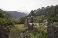 Glendalough (The Art of Exploring) Tags: glendalough wicklowmountains wicklow countywicklow landscape nature ireland graveyard tombstone cemetery celticcross glendaloughmonasticsite saintkevincemetery glendaloughcemetery