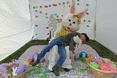 easterbunnyc (FAIRFIELDFAMILY) Tags: jason taylor carson greenbrier school winnsboro fairfield county sc south carolina granite wall fence building architecture design historic child boy young outside exploring explore michelle ralph lauren barn coat jacket vintage old barbour waxed english easter bunny costume father son train rail railroad gene baughman darren long roddy column tim mccarty nick depace 50 birthday party reunion