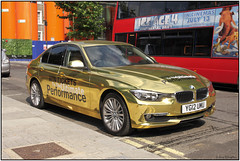 IMG_9844BU97 (Gerry McL) Tags: bmw gold olympics london advertisement competition yg12umu
