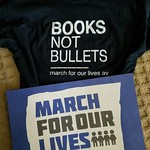 Went to the local #MarchForOurLives with a couple of the girls' former teachers. Felt proud to be there. thumbnail