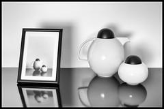 From analogic to digital or from real to virtual (as you prefer). (drugodragodiego (3 Millions Thanks)) Tags: pentax pentaxmx mx pentaxk1 k1 analog digital stilllife blackandwhite blackwhite bw biancoenero brescia italy pentaxart