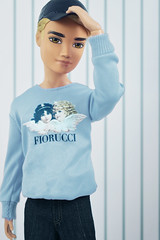 Cause what we've got is like a movie and I'm not above a good cliché (DollTheRage) Tags: myscene scene jaden diederich hudson club birthday fiorucci male blue hat cute doll hot trendy stripes