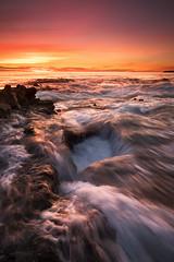 Woods Cove (RyanLunaPhotography) Tags: california fuji fujifilm ocean orangecounty socal southerncalifornia woodscove xt2 beach landscape seascape sunset