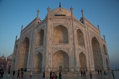 Taj Mahal (edina.cross) Tags: india asia taj tajmahal marble agra tomb mausoleum