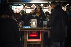 Unlimited supply (Melissa Maples) Tags: münchen munich deutschland germany europe nikon d3300 ニコン 尼康 nikkor afs 18200mm f3556g 18200mmf3556g vr winter marienplatz night christmasmarket holidays christmas christkindlmarkt market weihnachtsmarkt table mulledwine wine drink food drinking germans