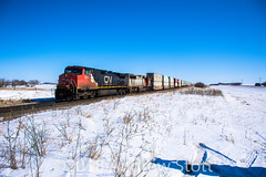 Another Lease Unit! (awstott) Tags: emd c449w sd75m prlx alberta cnr electromotivedivision train canadiannationalrailway cn locomotive 204 2645 generalelectric ge viking canada ca