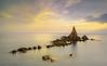 LAS SIRENAS (jgapsan) Tags: andalucia españa atardecer almeria cabodegata arrecifedelassirenas largaexposicion mediterraneo puesta de sol