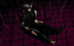 Gotham Can Wait (DaniGraphix Resident) Tags: hausofgraphelle secondlife sl avatar fashion fantasy iheartsl dc comics batman catwoman