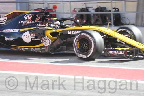 Nico Hülkenberg during Formula One Winter Testing 2018