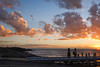 Dusk @ Brighton Beach (Marian Pollock) Tags: australia victoria melbourne brighton beach clouds sunset dusk people shadows portphilipbay ocean water reflections pier sun silhouette seascape evening sunshine rocks cloud