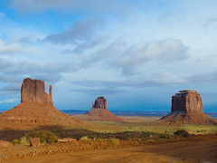 Monument Valley, Navajo Tribal Park #6 (jimsawthat) Tags: sedimentaryrock erosion geology rural arizona monumentvalley navajo