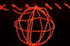 Wired sphere (haldhars) Tags: wired sphere spiral red redglow