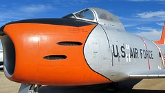 """North American F-86H Sabre 14 • <a style=""""font-size:0.8em;"""" href=""""http://www.flickr.com/photos/81723459@N04/26891202518/"""" target=""""_blank"""">View on Flickr</a>"""