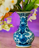 Valerie's Vase (risaclics) Tags: crazy tuesday theme make me smile 50mm18macro 7dw march2018 nikond610 blue crazytuesdaytheme makemesmile
