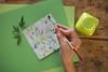 11/52 Washi (Nathalie Le Bris) Tags: papel washi mano hand green verde cenital