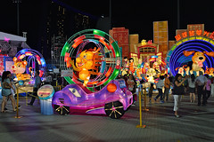Zodiac - Tiger (chooyutshing) Tags: zodiactiger lantern lightedup display riverhongbao2018 thefloatmarinabay chinesenewyear lunarnewyear yearofthedog festival attractions marinabay singapore