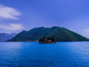 The island of Sveti Đorđe, Bay of Kotor, Montenegro (SheffieldRambler) Tags: montenegro kotor