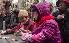 Card Players, Columbus Park (J MERMEL) Tags: chinatown genres geography nyc parksgardens people portraits views card games players onlookers