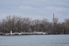 Back in Time (danfryer2) Tags: detroitriver skytower marker winter derelict nature winte colour color essexcounty nikond7200 bobloisland snow