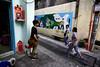 Alley Traffic. Saigon (minus6 (tuan)) Tags: minus6 d810 chợlớn sàigòn vietnam 20mm mts