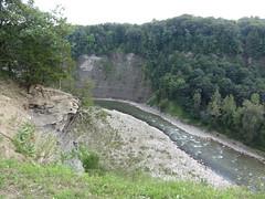 Letchworth State Park - Tea Table Overlook (Itinerant Wanderer) Tags: newyorkstate letchworthstatepark overlook