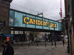 Camden Lock (My photos live here) Tags: london capital city lock bridge market chalk farm road high street england iphone 5s urban camden north