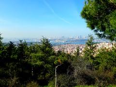 Wide veiw (halah.m1010) Tags: landscape green sky phone samsung istanbul
