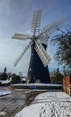 Holgate Windmill after snow, February 2018 - 07