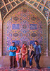 Nasir al-Mulk Mosque, Shiraz, Fars Province, Iran (Feng Wei Photography) Tags: islamicculture persianculture traveldestinations ornate persian landmark vertical shiite colorimage placeofworship islamic female indoors famousplace tourist iran iranianculture travel islam shiraz decoration shiiteislam mosque middleeast tourism nasiralmulkmosque farsprovince irn