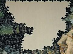 90% complete (pefkosmad) Tags: jigsaw puzzle hobby leisure pastime falcon vintage 1500pieces thereconciliationofoberonandtitania sirjosephnoelpaton art painting scottish fineart elves fairies sprites titania oberon fantasy progressreport