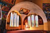 Aksum, Ethiopia (Neal J.Wilson) Tags: christianity church religion walls windows colors colour colourful paintings stainedglasswindow arch architecture building light aksum ethiopia africa