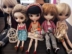 Mini doll meet (mouldysweets) Tags: dollmeet dollphotography junplanning dal pullip taeyang isul