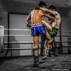 Fight Night:  Georgio Giacomini  (Stirling) v Kyle Chan  (Strathclyde) (FotoFling Scotland) Tags: fightnight gcalmuaythai glasgow glasgowcaledonianuniversity hamishwoodlecturehall muaythai sport thaiboxing boxing fight