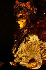 Carnaval Vénitien Longwy 2018 (studio SW) Tags: carnaval venise longwy lorraine costume nuit carnival venetian mask or brun gold brown