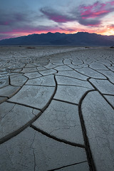 Puzzling (David Colombo Photography) Tags: deathvalley mud crackedmud nationalpark mountains valley clouds nikon d800 davidcolombo davidcolombophotography outdoor landscape