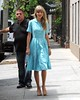 EXCLUSIVE: Taylor Swift leaves a photoshoot in New York City (Tobie87) Tags: shoes nails mascara blondehair photoshoot redlips summerdress fashion slimbody bands bluenails newyorkcity style tanshoes hairtotheside blonde taylorswift usa us