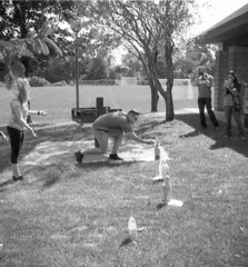 (animated stereo) Putting Mentos in soda (Thiophene_Guy) Tags: ilfordfp4 originalworks realist stereorealist thiopheneguy stereoview stereogram 3d stereo parallax stereophotomaker animatedstereo animatedgif wiggle wiggly jiggle jiggly motionparallax animated gif 2017 wigglegram ぷるぷる プルプル3d プルプル