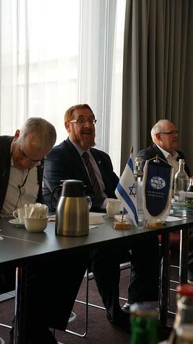 Treffen der Freunde von Keren Hayesod Berlin, Hotel Savoy 2018 mit Rabbi MK Glick, Jerusalem