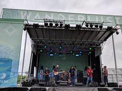 Dread Ashanti plays music on stage outdoor (Eric Broder Van Dyke) Tags: wanderlust oahu 2088 2018 dread ashanti plays music stage outdoor