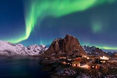 Hamnøy (TomNC) Tags: hamnoy hamnøy aurora auroraborealis norway lofoten islands night nature landscape northernlights