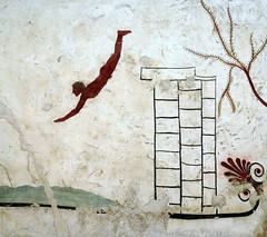 Tomb of the Diver (PeterCH51) Tags: italy italia paestum tomb diver tombofthediver greek peterch51 unesco worldheritage fresco painting