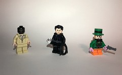 DC Figures 66 (Raleigh2900) Tags: mask black catwoman hatter mad batman dc lego