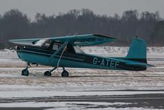 EGLK - Cessna 150E - G-ATEF (lynothehammer1978) Tags: eglf bbs blackbushe blackbusheairport gatef cessna150e