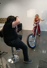 Hannan Custom photo shoot.. (The bike guy !) Tags: style manchester studio james morgan beth build customised montreal canada eric kinlan glamour model cycle ls300 bikeguy bike bicycle chopper custom hannan