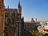 Una linea immaginaria (W@nderluster) Tags: siviglia cattedrale sevilla spain spagna espana cathedral church travel monument street andalucia andalusia view city españa