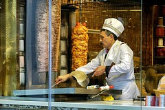 Doner Kebab (Philippe Vieux-Jeanton) Tags: istanbul turkey turquie restaurant street kebab sony18135mmoss sonya6000 2018 explore cook cooking chef
