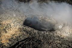 Pu'u 'Ō'ō vent (wyojones) Tags: hawaiivolcanoesnationalpark hawaii bigisland pu'u'ō'ō kīlaueavolcanoseastriftzone kilauea smoke volcanology volcano lavaflow lava basalt geology volcanicvents lake lavafountain cone volcaniccone wyojones np