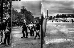 Tourments! / Damages! (vedebe) Tags: noiretblanc netb nb bw monochrome humain human ville city paris rue street
