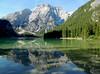 Lago di Braies - 3 (anto_gal) Tags: altoadige sudtirol dolomiti dolomites pusteria dobbiaco toblach 2013 montagna lago braies croda becco pragserwildsee